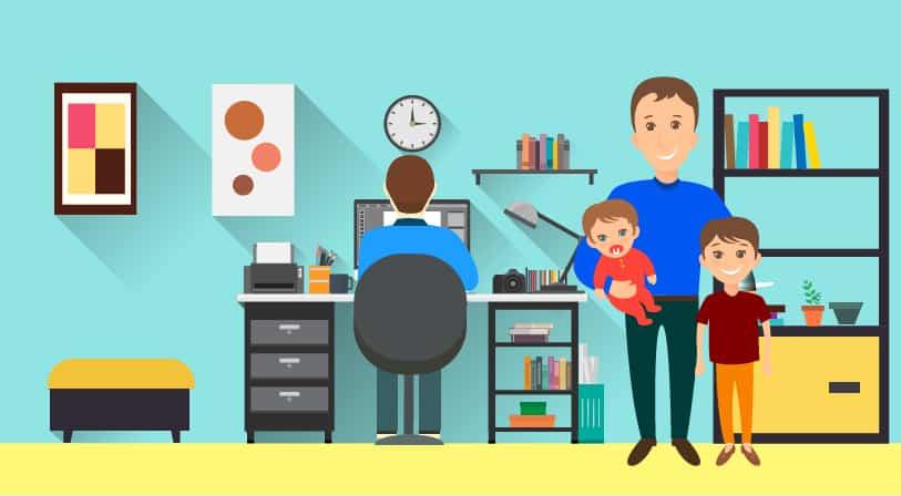 Kiat – Kiat Membawa Anak ke Kantor Anda