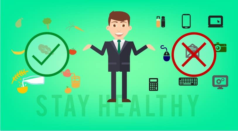 10 Tanda Anda Mengabaikan Kesehatan Demi Pekerjaan