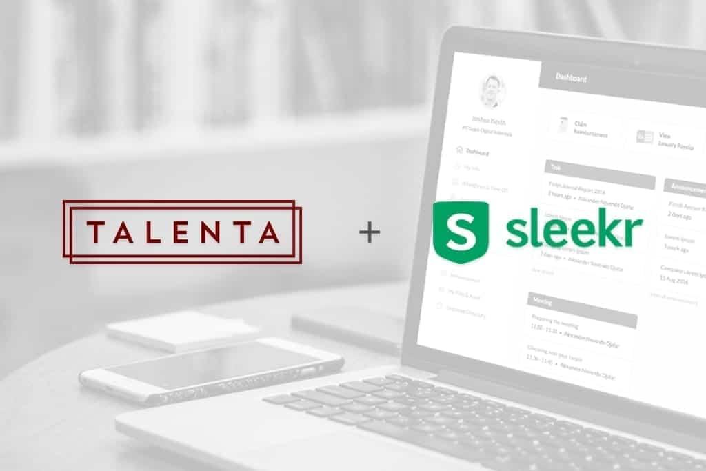 Talenta dan Sleekr Bergabung untuk Memperkuat Solusi HR Indonesia