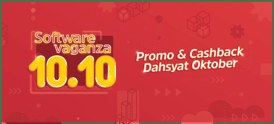 Promo Talenta Cashback 50% di Softwarevaganza 10.10