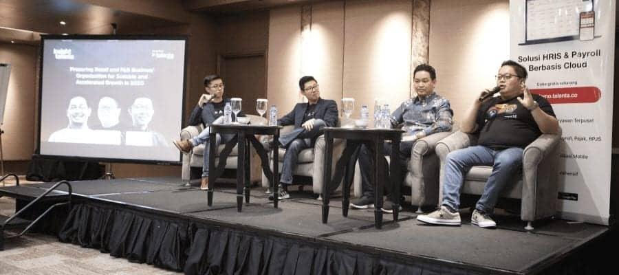 Sukses dengan CEO Power Breakfast, Talenta Mengajak Industri F&B dan Retail Memanfaatkan Teknologi
