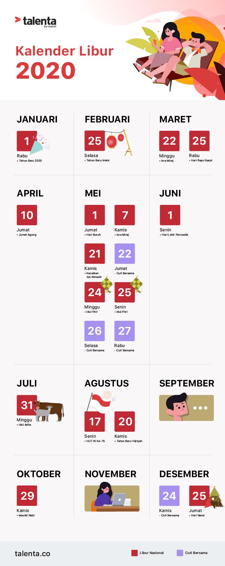 Kalender Libur Nasional