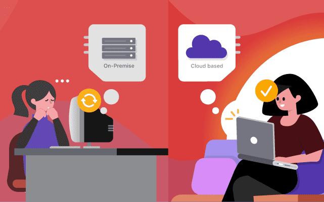 Mengapa Software HR Berbasis Cloud Lebih Baik dari yang On-Premise?
