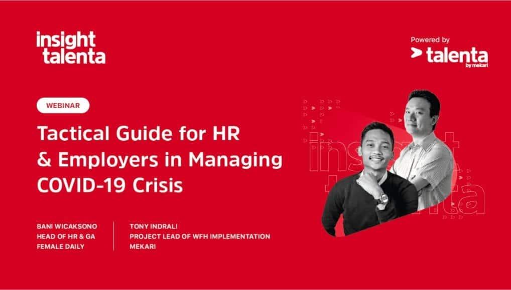 Panduan Taktis Untuk HR & Pengusaha dalam Menghadapi Krisis COVID-19