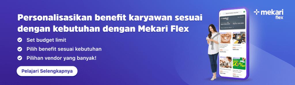 Kelola Berbagai Jenis Tunjangan Karyawan Lebih Mudah Dengan Mekari Flex Talenta HRIS