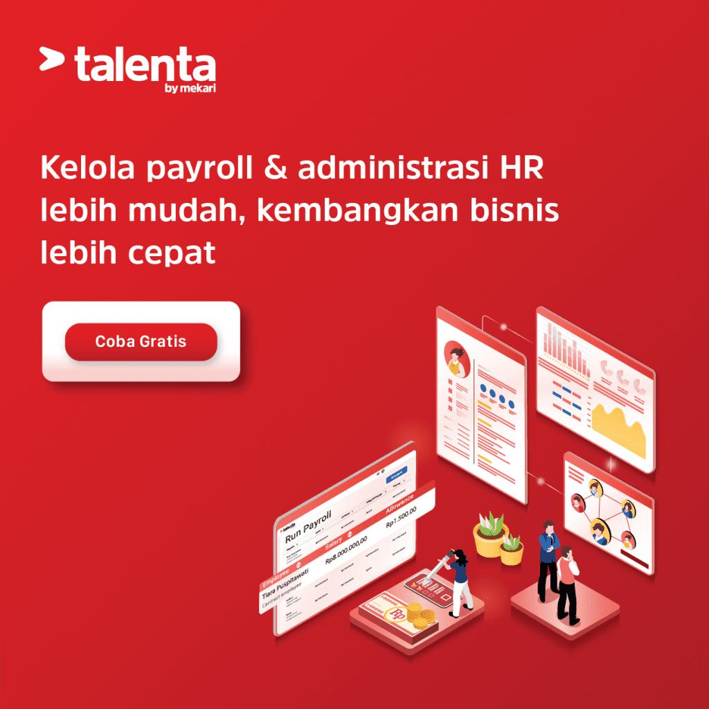 Coba Gratis Aplikasi HRD HRMS HRIS Talenta Sekarang!