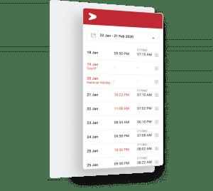 Mobile attendance terintegrasi payroll