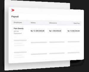 Terintegrasi dengan payroll, perhitungan gaji berdasar absensi