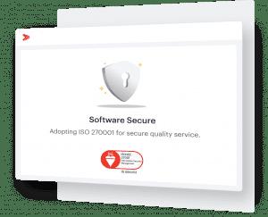 Keamanan data yang terjamin