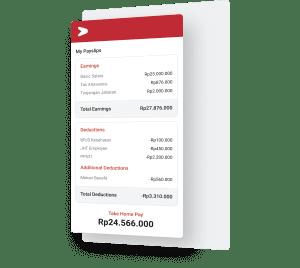 Seluruh komponen payroll di satu aplikasi