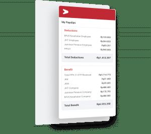 E-payslip komprehensif untuk transparansi yang maksimal