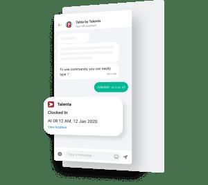 Aplikasi chat terintegrasi HRIS
