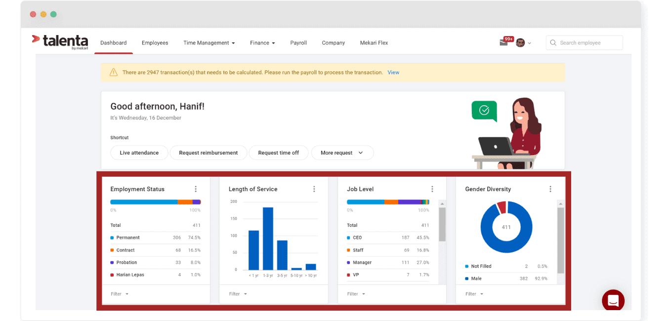 Berikut Adalah Portal HRIS Talenta, HR Portal terbaik untuk Perusahaan