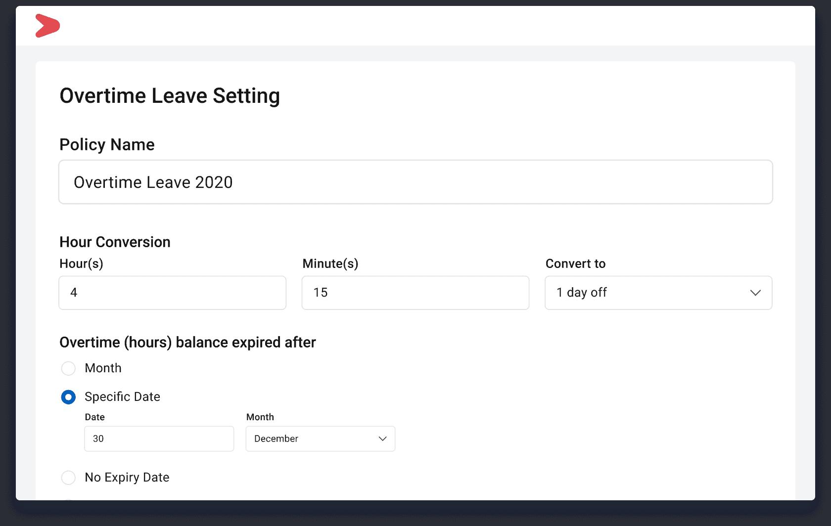 Aplikasi Pengelolaan Jadwal Lembur