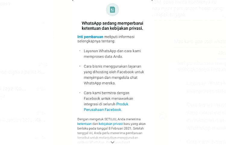 Tentang Aturan Baru Whatsapp, Juga Kebijakan Privasi WhatsApp Yang Baru Untuk Anda Pelajari
