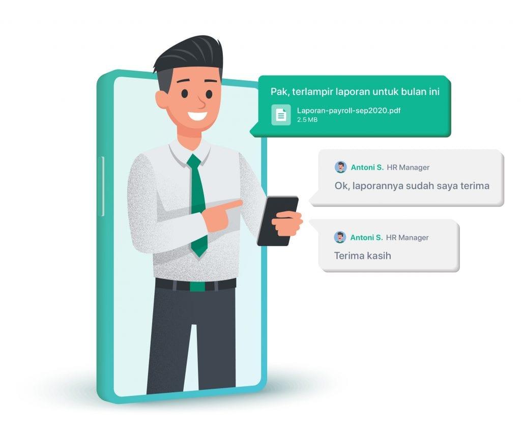 Berikut tantangan bekerja remote dan cara mengatasinya. Salah satunya adalah dengan menggunakan aplikasi Mekari Chat.