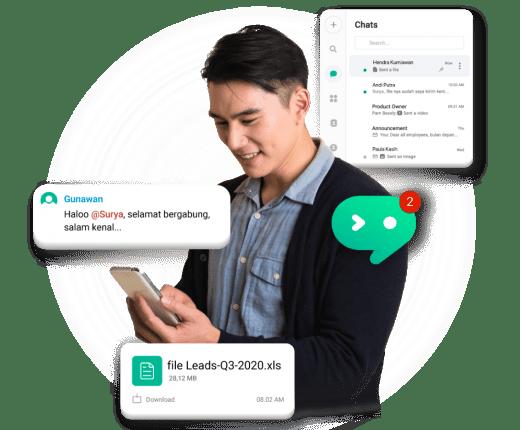 Chatting Aman dan Nyaman dengan Mekari Chat