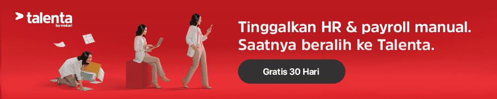 Coba Gratis Talenta, Software Hr Berbasis Cloud Terbaik.