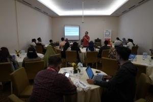 Diskusi Insight Talenta: Catching up to Workforce 2020: Leading the Digital Age di Aone Hotel, Jakarta, (30/1).