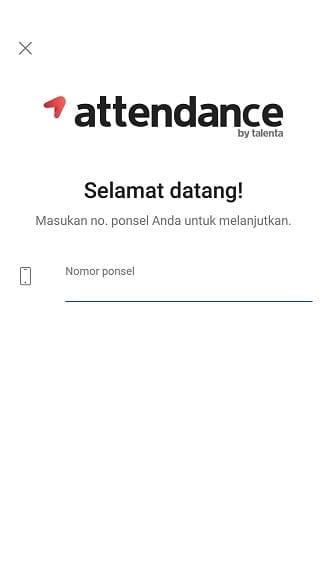 aplikasi Attendance by Talenta