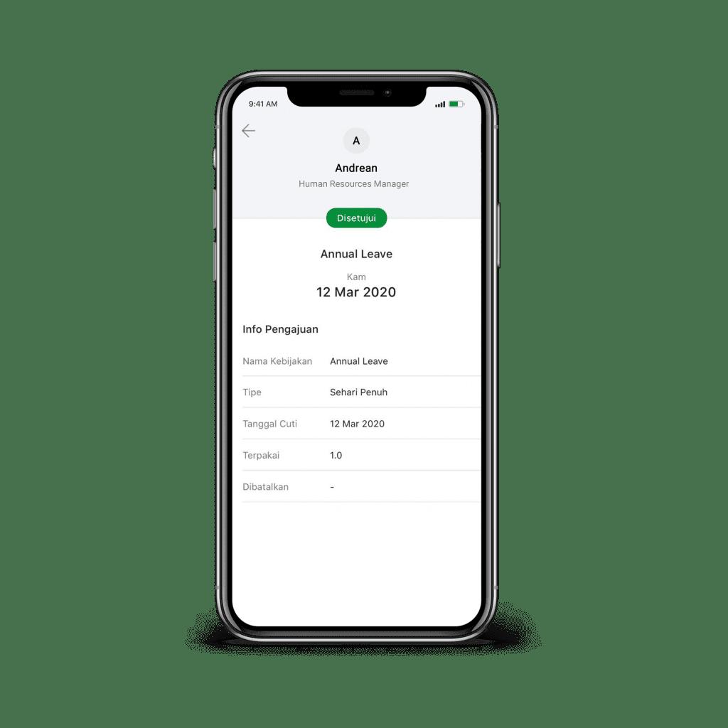 Fitur Aplikasi program Cuti Karyawan Perusahaan