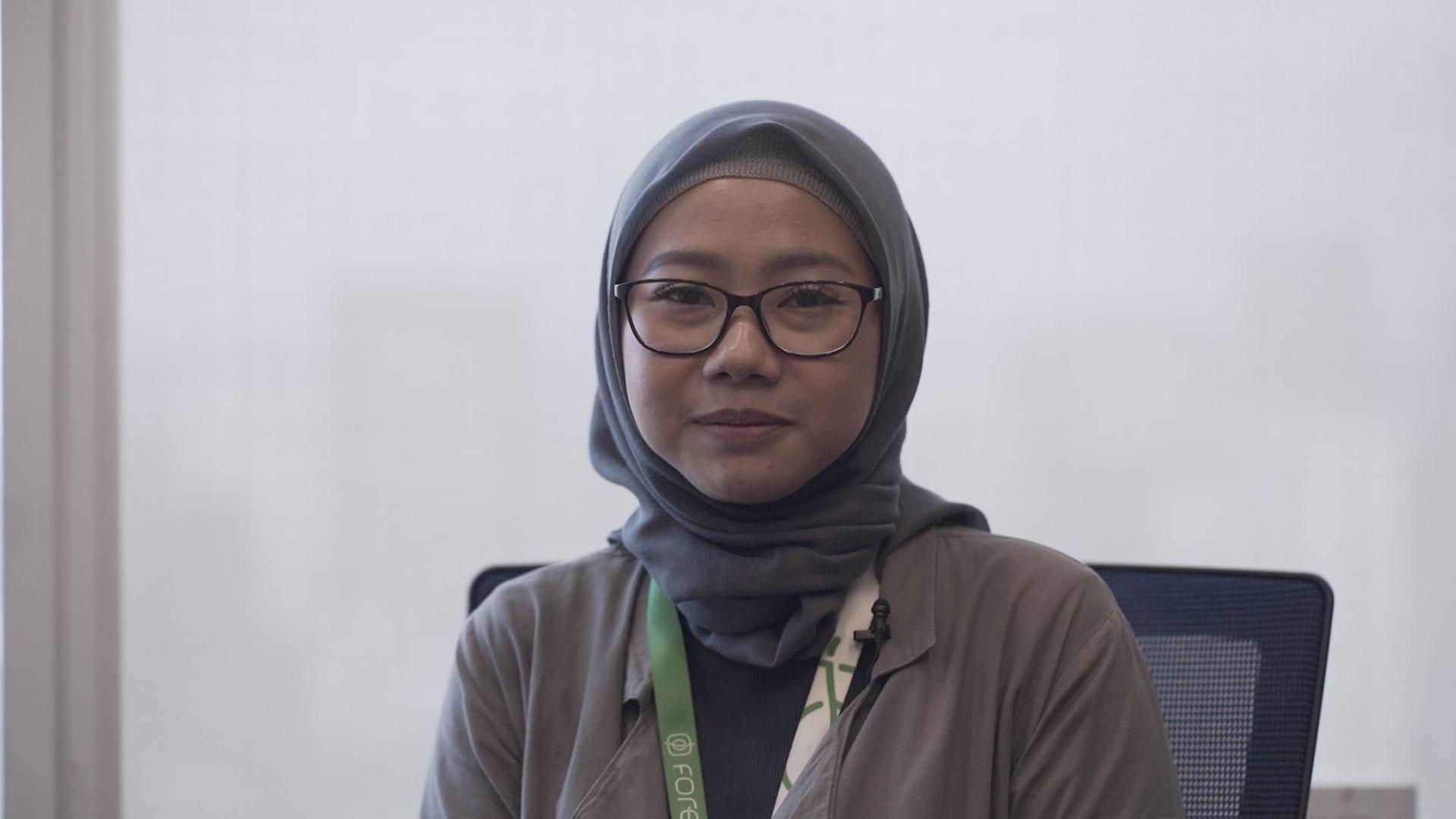 Human Resource (HR) Fore Coffee, Marsya Dwi Putri