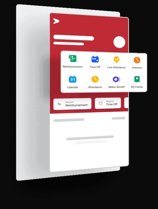 Ilustrasi Software HRIS Indonesia