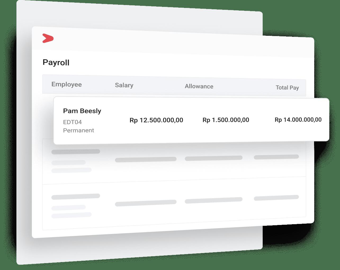 Contoh Sistem Payroll